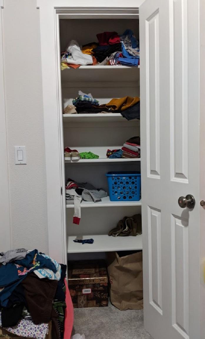 closetfull shot
