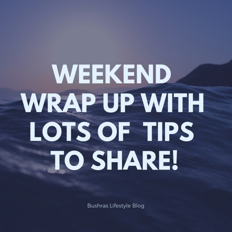 weekend wrap up1