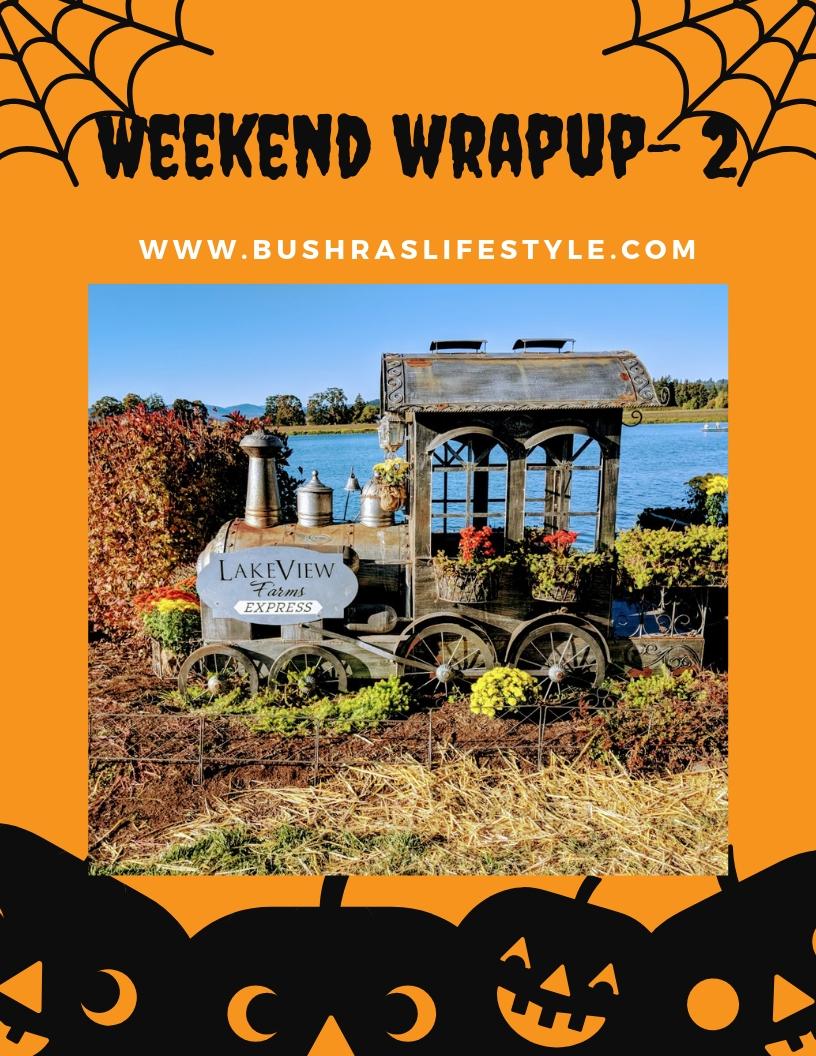 Weekend wrapup - 2